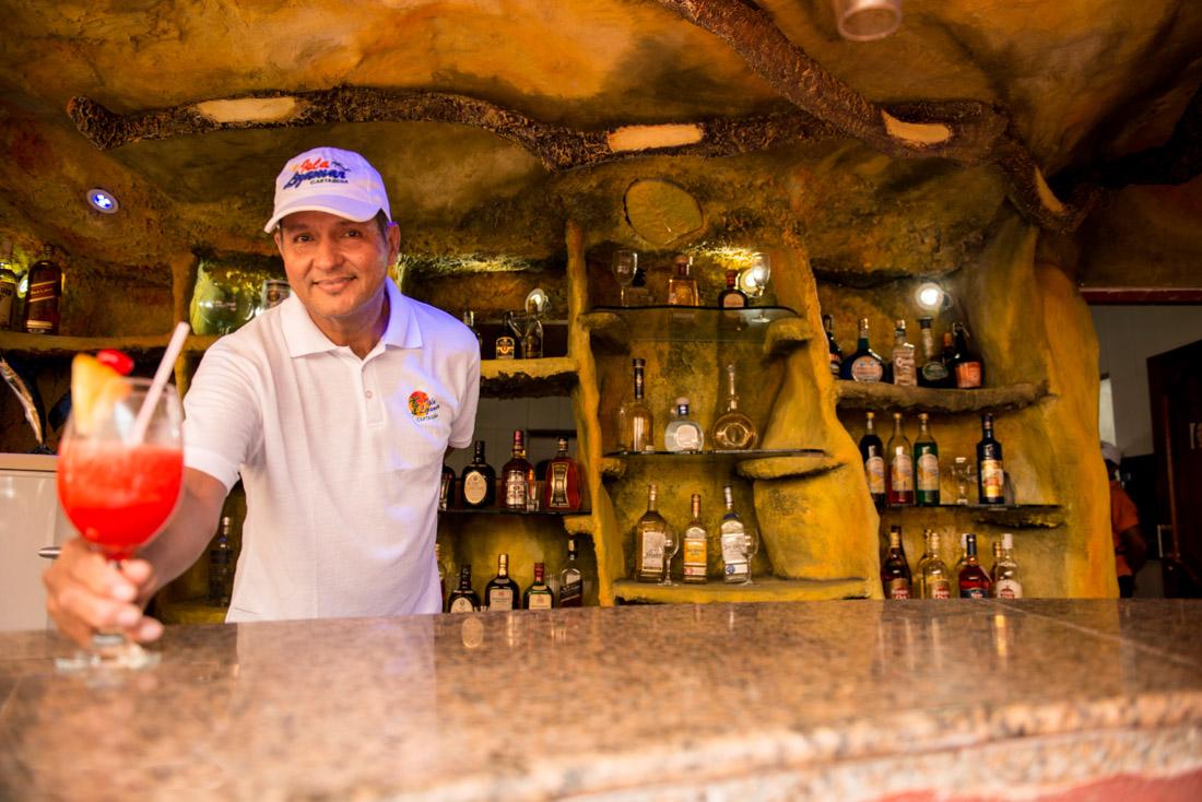 Bar y cocteles — Isla Lizamar (Islas del Rosario, Colombia)