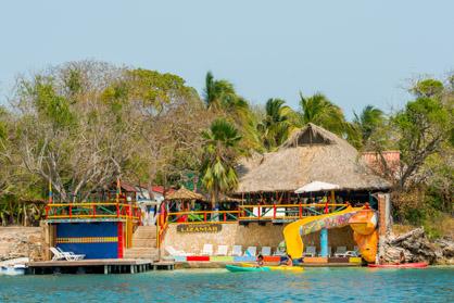 Kayak — Isla Lizamar (Islas del Rosario, Colombia)