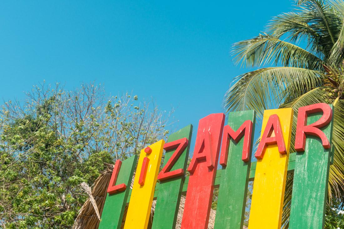 Silla gigante — Isla Lizamar (Islas del Rosario, Colombia)